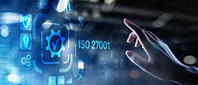Logo certificazione ISO 27001